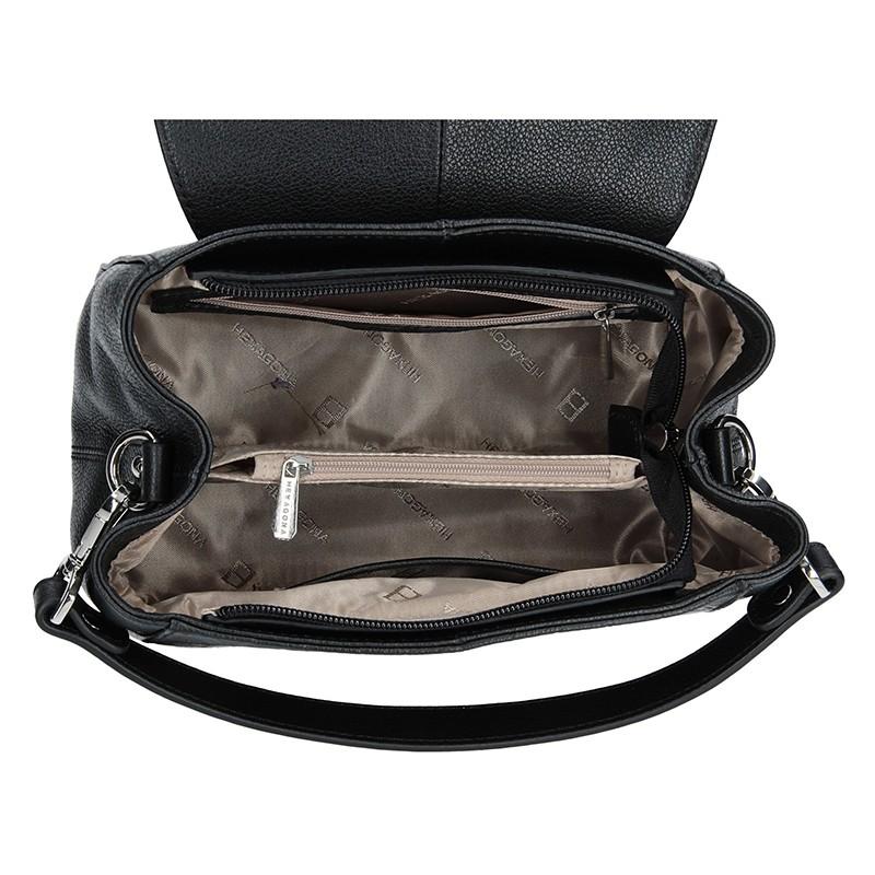 Dámská kabelka Hexagona 465361 - černá