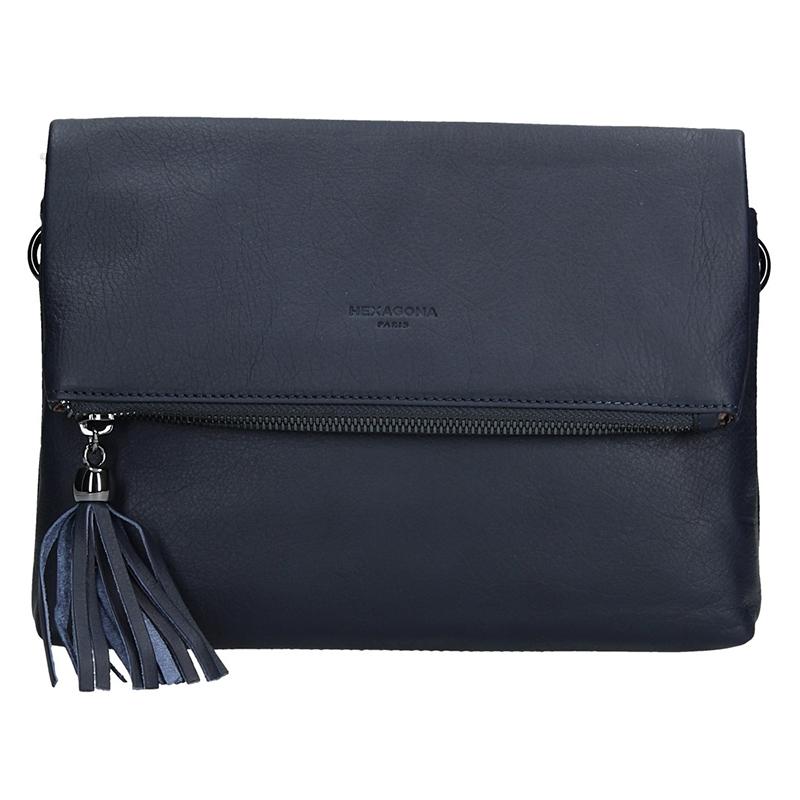 Dámská kabelka Hexagona 415489 - modrá