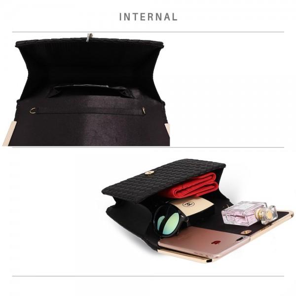 Dámské psaníčko LS Fashion Luren - černá