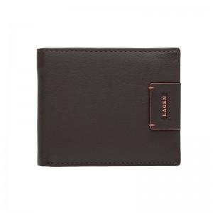 Pánská kožená peněženka Lagen Tristan - hnědá