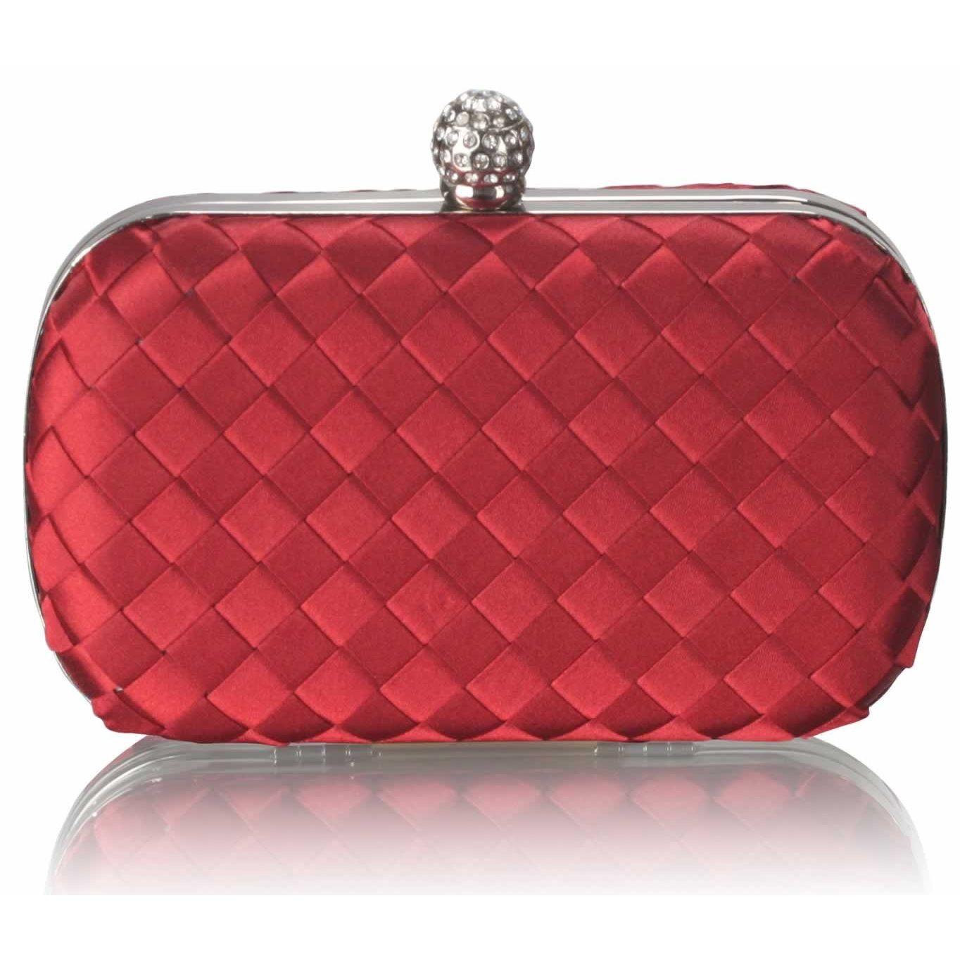 Dámské psaníčko LS Fashion Sophie - červená