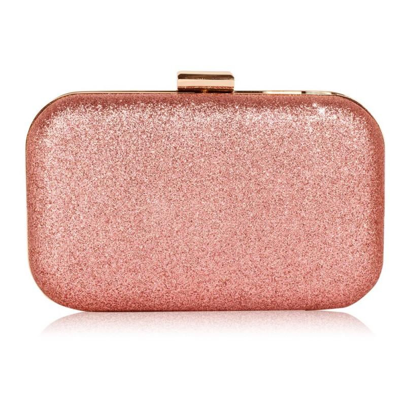 Dámské psaníčko LS Fashion Chantelle - růžová