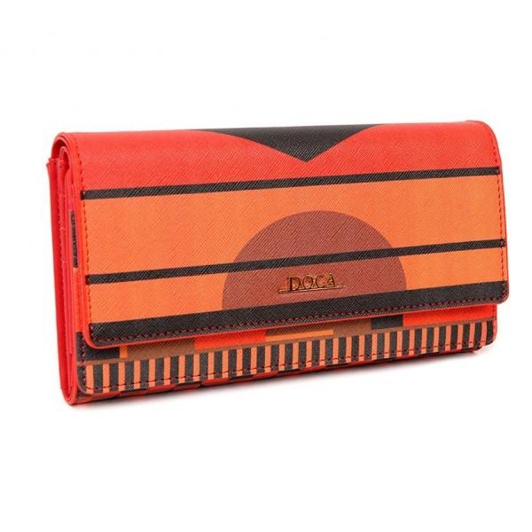 Dámská peněženka Doca 64812 - červená