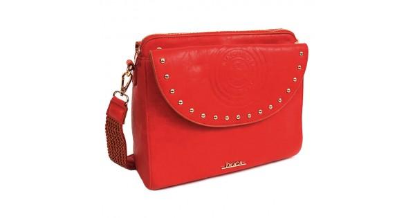 Dámská crossbody kabelka Doca Amanda - červená f459f487490
