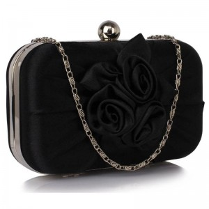 Dámské psaníčko LS Fashion Rousie - černá