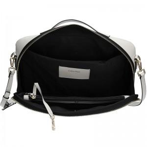 Dámská taška na notebook Calvin Klein Aurora - krémová