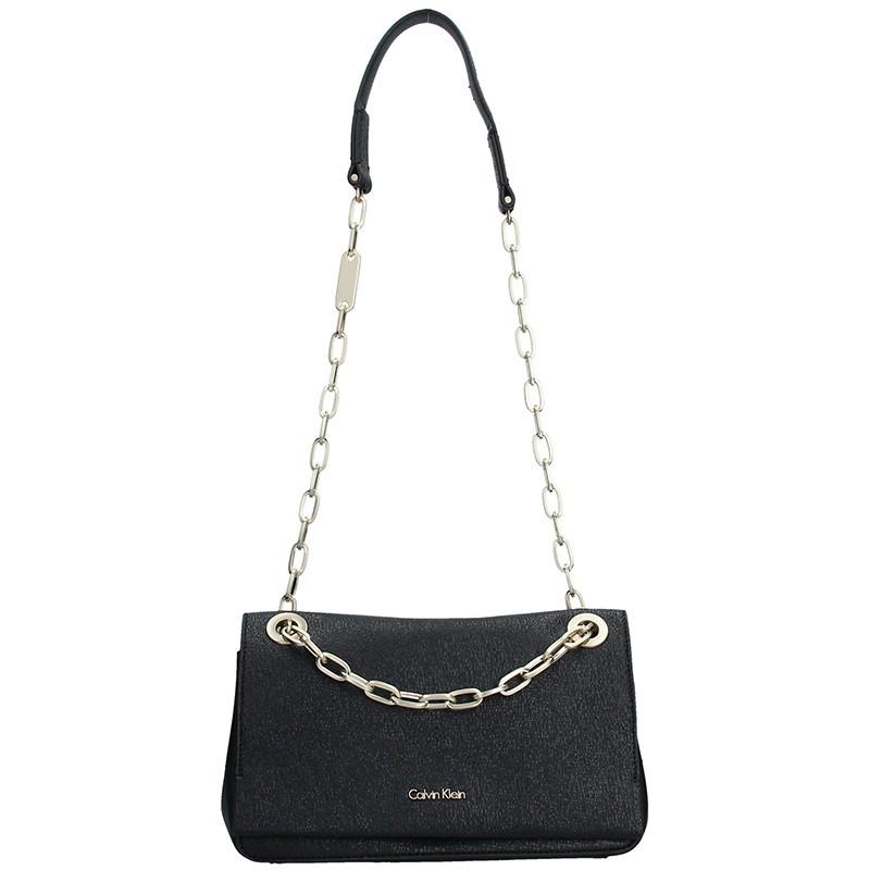 Dámská crossbody kabelka Calvin Klein Convertible Shoulder Bag - černá