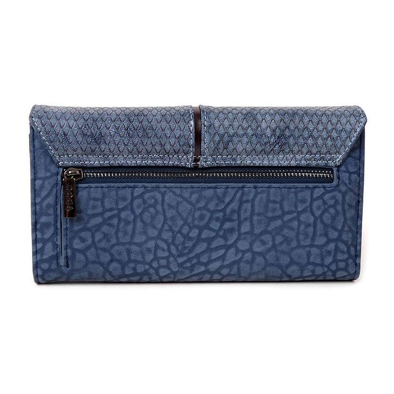 Dámská peněženka Doca 64782 - modrá