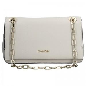 Dámská crossbody kabelka Calvin Klein Convertible Shoulder Bag - krémová