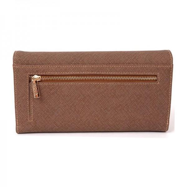 Dámská peněženka Doca 64753 - hnědá