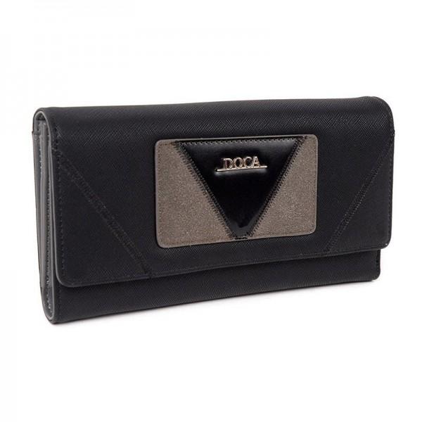 Dámská peněženka Doca 64752 - černá