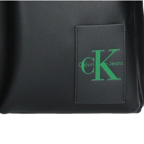 Pánská taška přes rameno Calvin Klein Satchel - černá