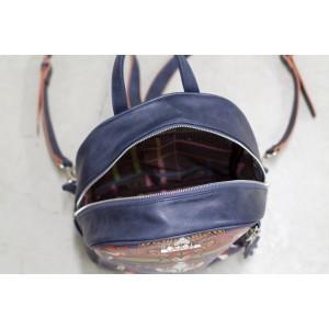 Dámský batůžek Doca 13153 - modrá