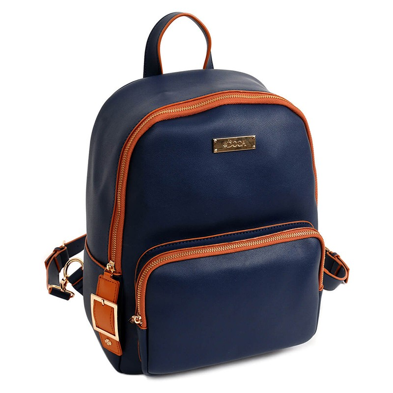 Dámský batůžek Doca 13359 - modrá