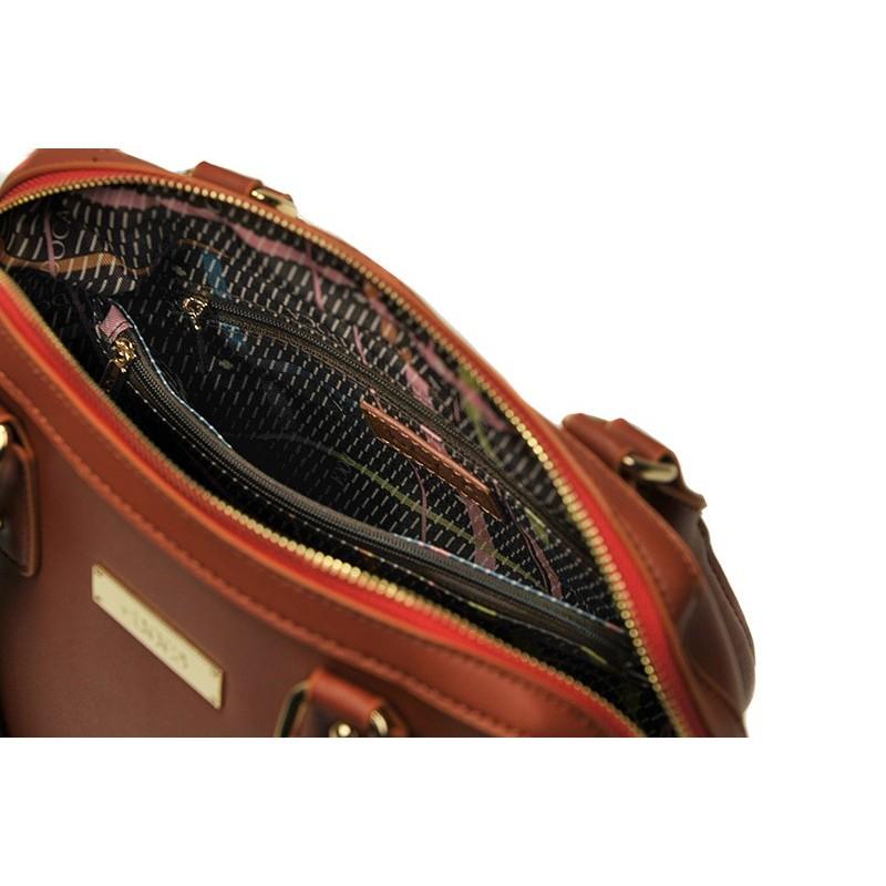 Dámská kabelka Doca 13360 - červená