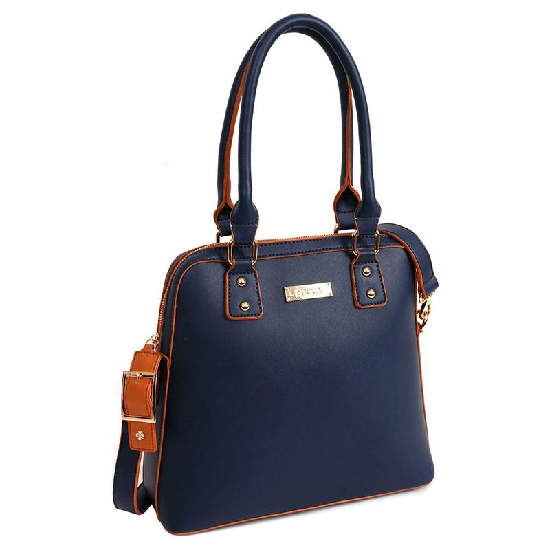 Dámská kabelka Doca 13361 - modrá