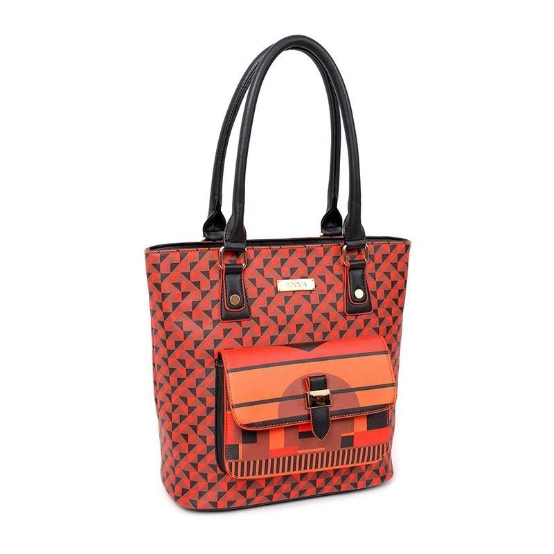 Dámská kabelka Doca 13039 - červená