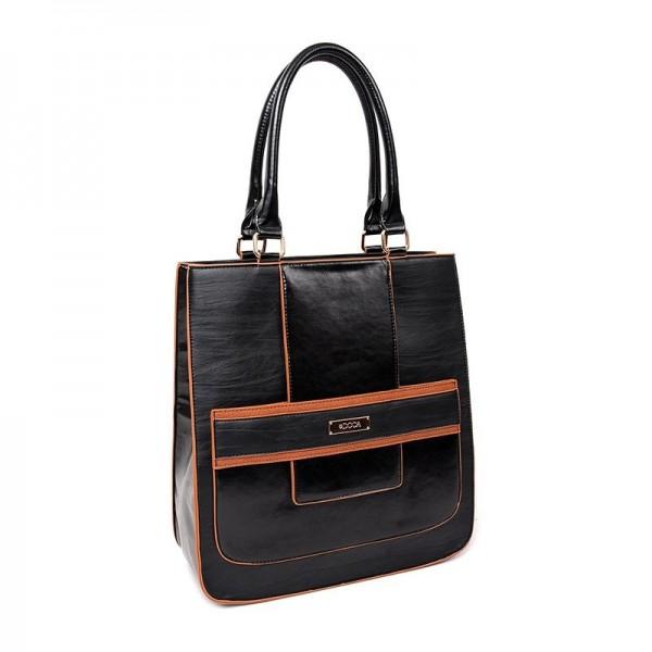 Dámská kabelka Doca 13007 - černá