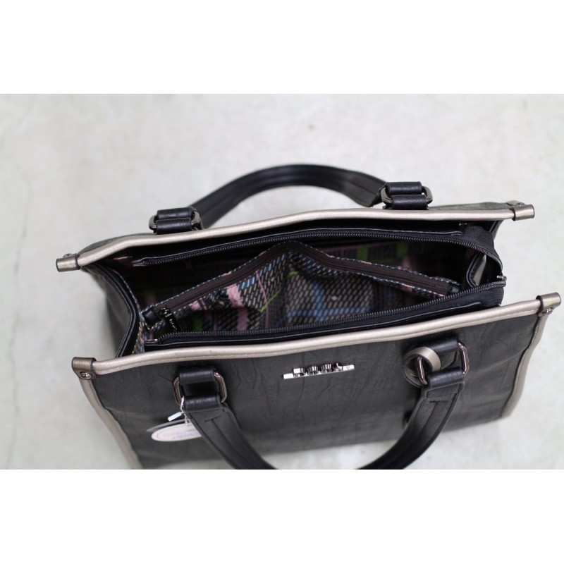 Dámská kabelka Doca 12972 - hnědá