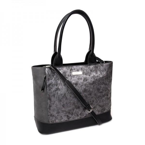 Dámská kabelka Doca 12906 - černá