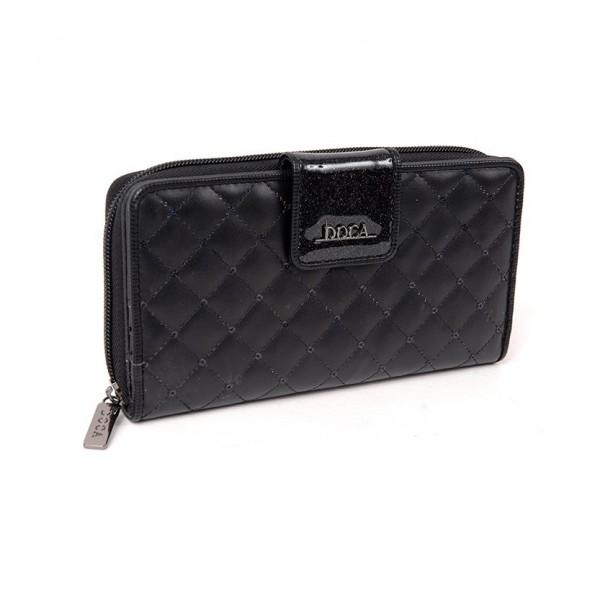 Dámská peněženka Doca 64856 - černá