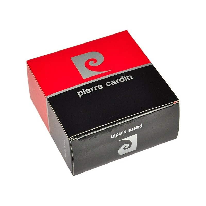 8393ef242a8 Černý kožený opasek Pierre Cardin Alain