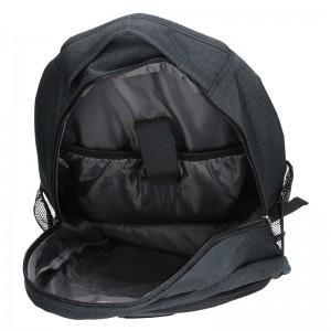 Pánský batoh Enrico Benetti Igor - černá