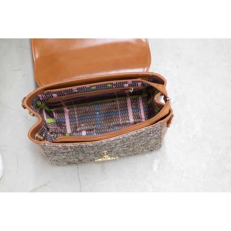 Dámská kabelka Doca 12861 - hnědá