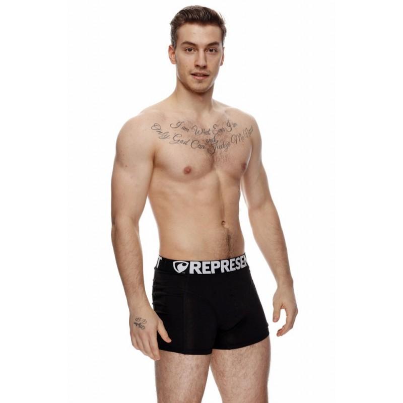 Pánské Boxerky Represent Sport Black