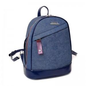 Dámský batůžek Doca 12821 - modrá