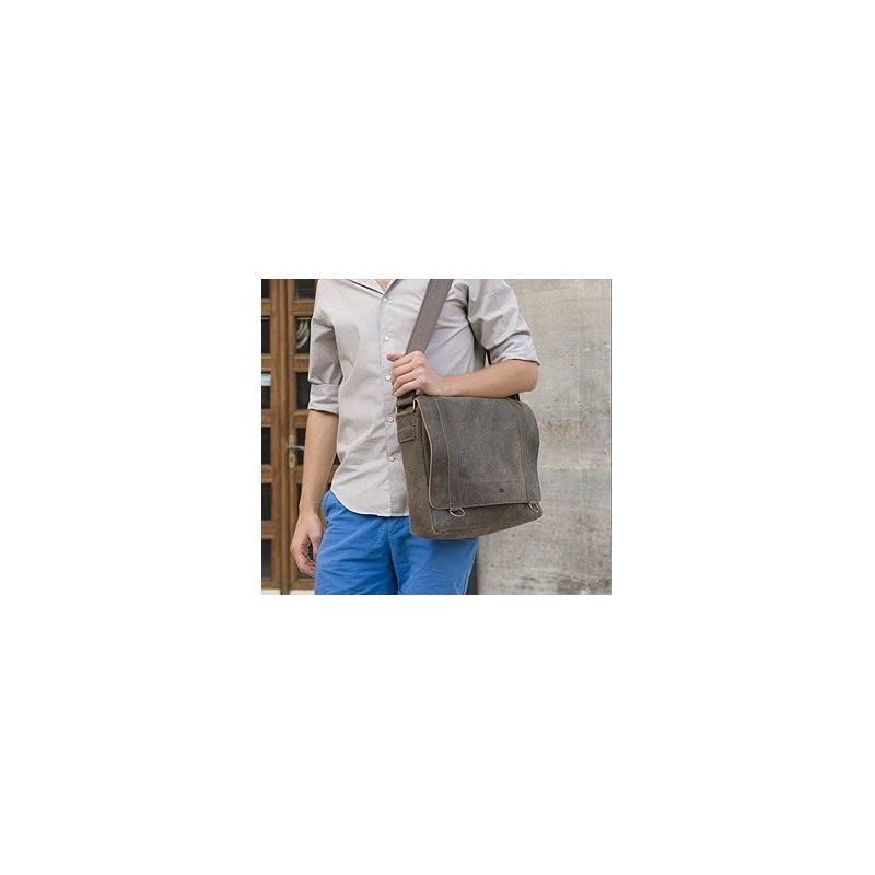 Pánská taška Daag JAZZY RISK 25 GIBRALTAR - hnědá