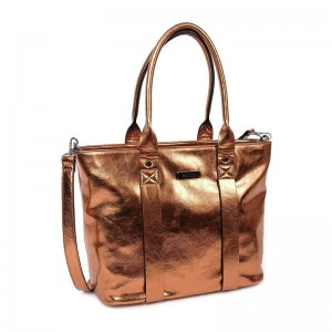 Dámská kabelka Doca 12768 - bronzová