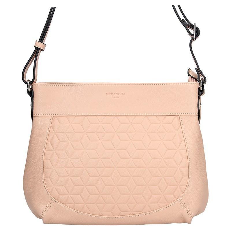 Dámská kabelka Hexagona 465355 - růžová