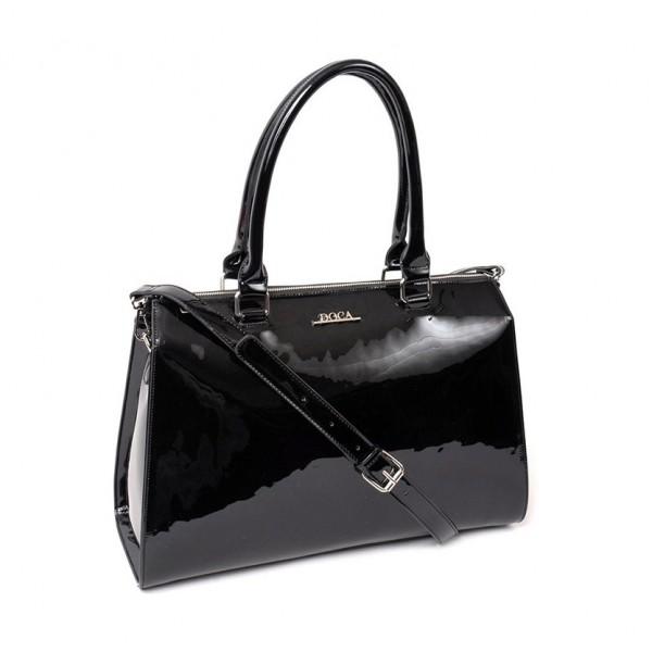 Dámská kabelka Doca 13166 - černá