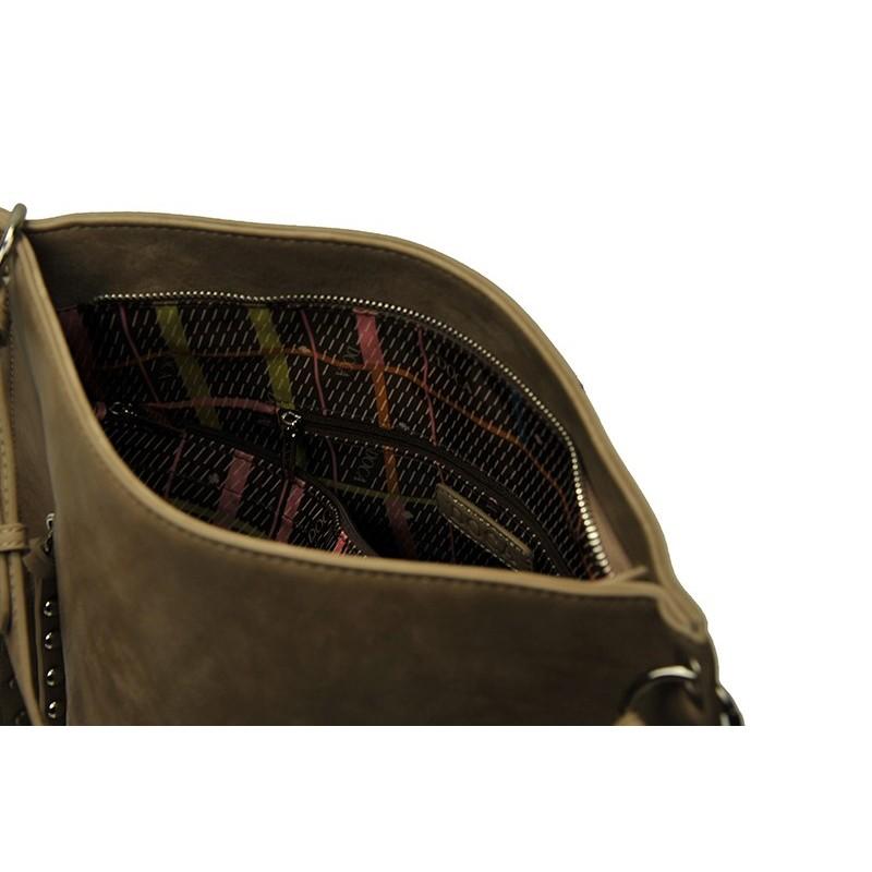Dámská kabelka Doca 13388 - béžová