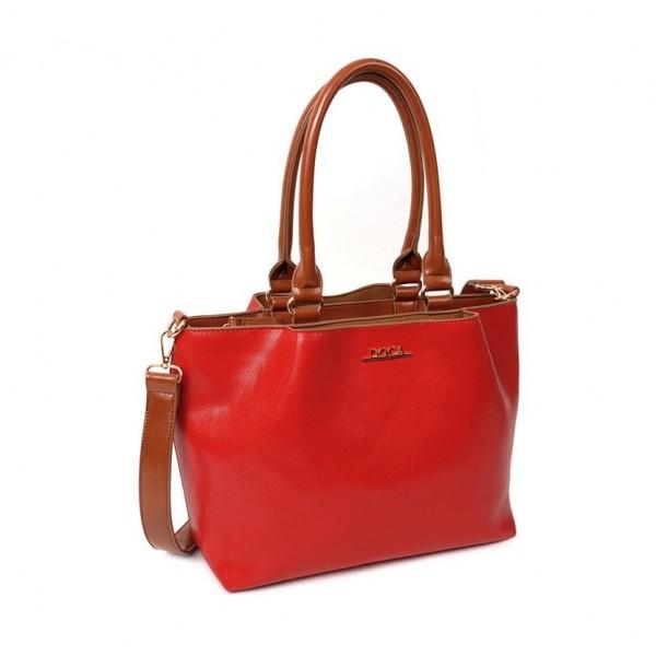 Dámská kabelka Doca 12656 - červená