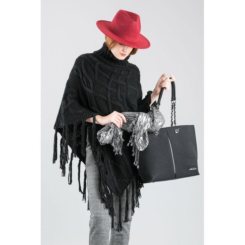 Dámská kabelka Doca 12611 - černá