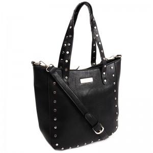 Dámská kabelka Doca 13392 - černá