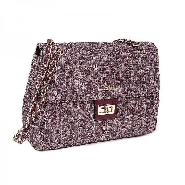 Dámská kabelka Doca 12599 - fialová