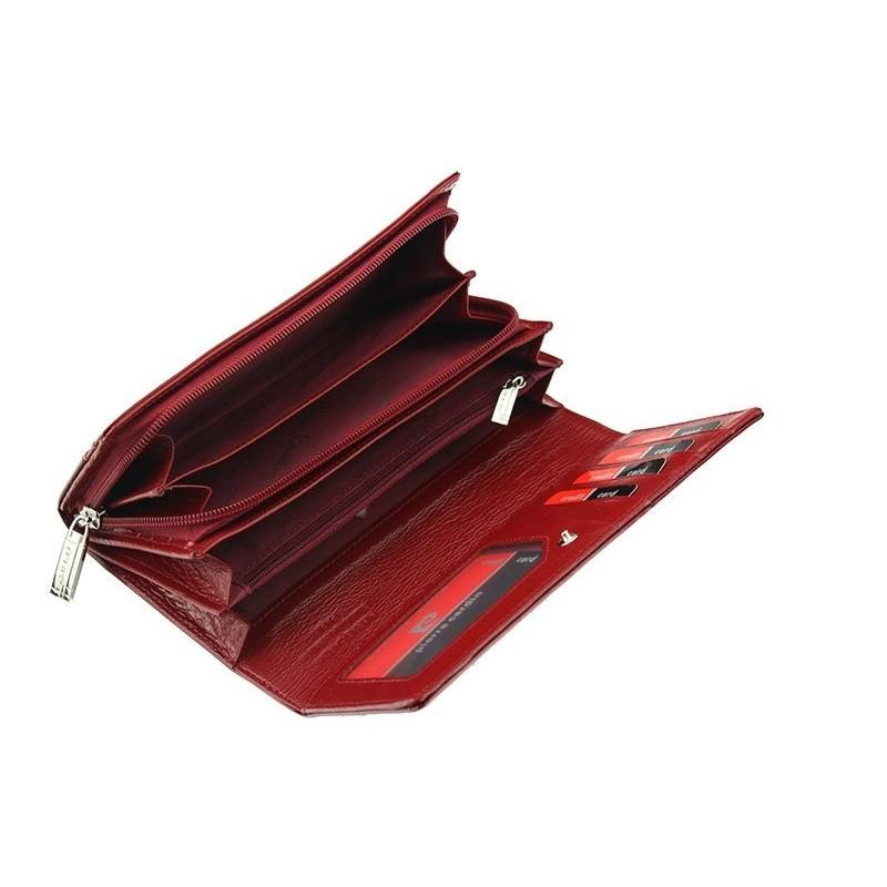 Dámská kožená peněženka Pierre Cardin Eliška - černá