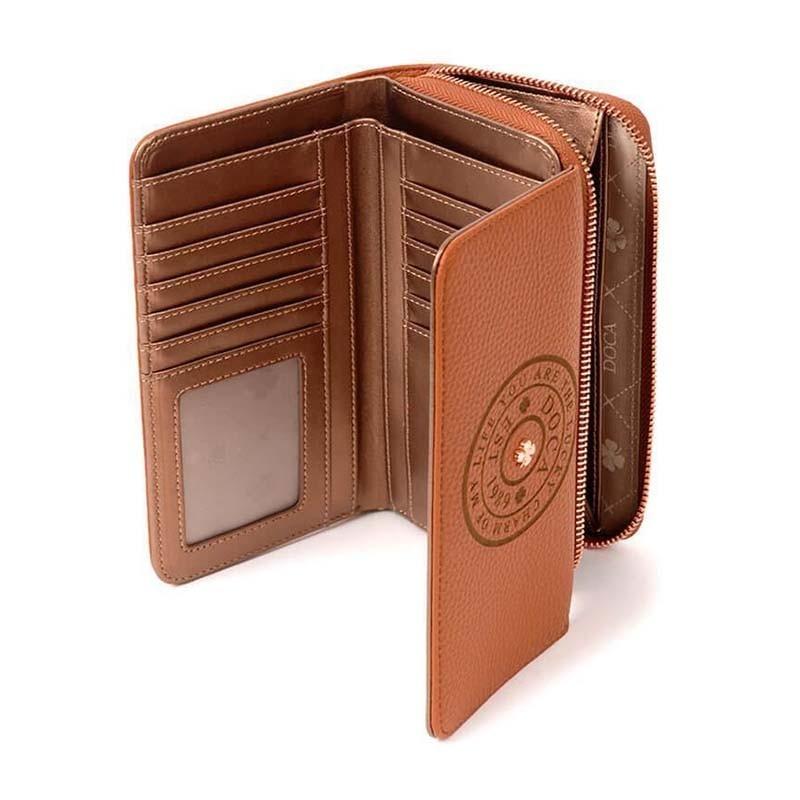 Dámská peněženka Doca 64769 - hnědá