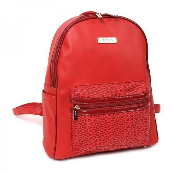 Dámský batůžek Doca 13108 - červená