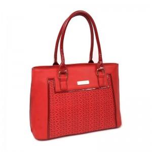 Dámská kabelka Doca 13106 - červená