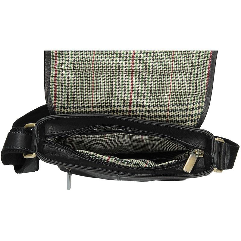 Pánská kožená taška přes rameno SendiDesign Maxim - hnědá