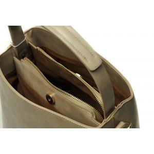 Dámská kabelka Doca 13399 - béžová