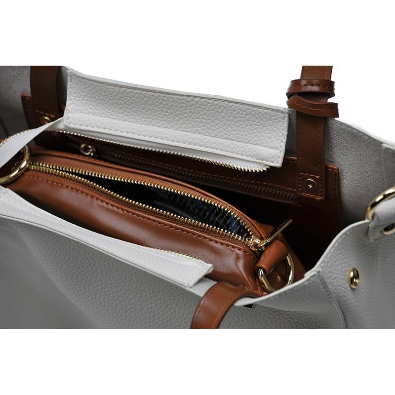 Dámská kabelka Doca 13404 - bílá