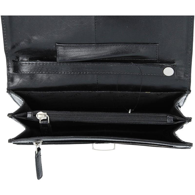 Pánské kožené etue Lagen E2016 - černá