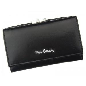 Dámská kožená peněženka Pierre Cardin Maria - černá