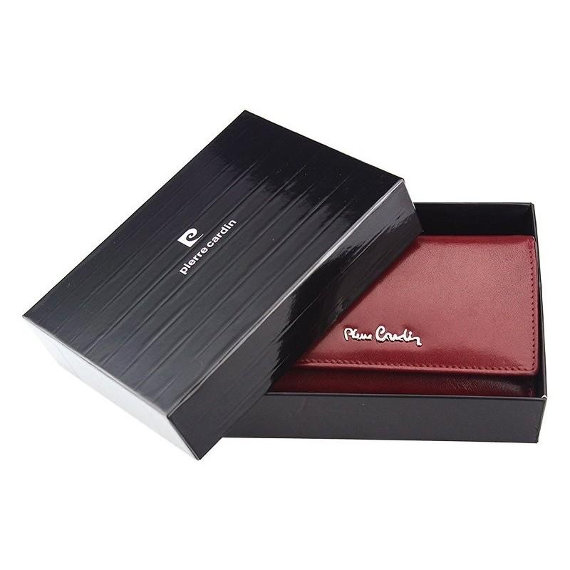 Dámská kožená peněženka Pierre Cardin Maria - vínová