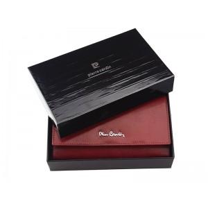 Dámská kožená peněženka Pierre Cardin Karla - vínová